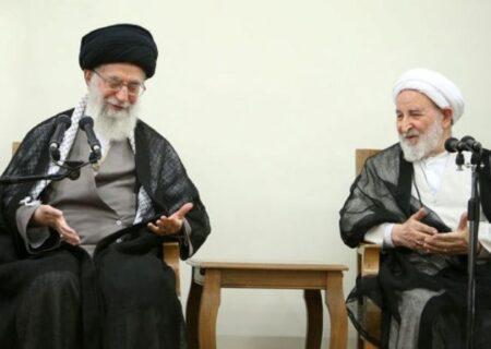 رهبر انقلاب اسلامی درگذشت آیتالله یزدی را تسلیت گفتند