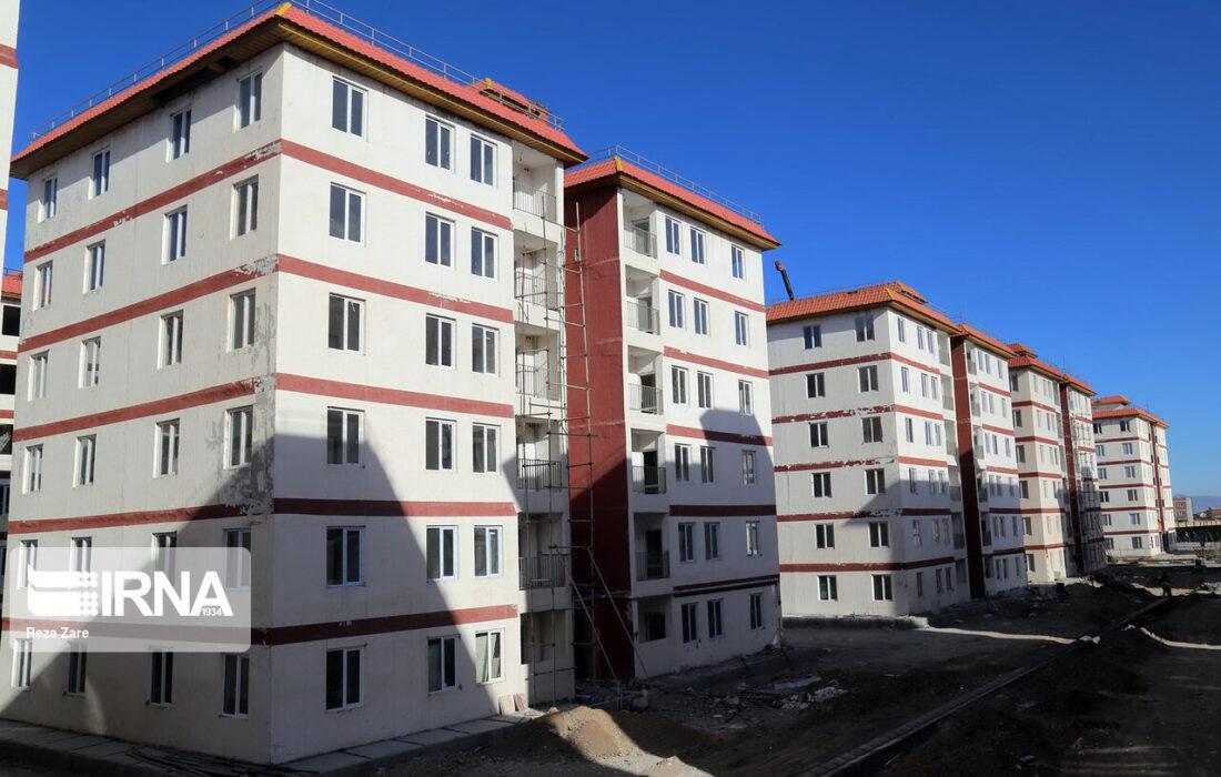 ۹۰۰ واحد مسکن مهر خراسان شمالی امسال بهرهبرداری میشود