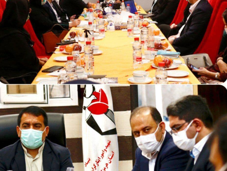 بازدید مدیرعامل شرکت بیمه دی از مدیریت استان هرمزگان
