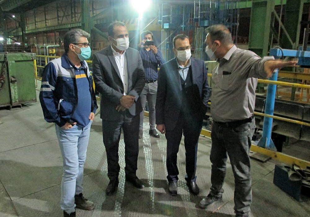 بازدید عضو هیأت مدیره بانک صنعت و معدن از چندین واحد صنعتی در استان خوزستان