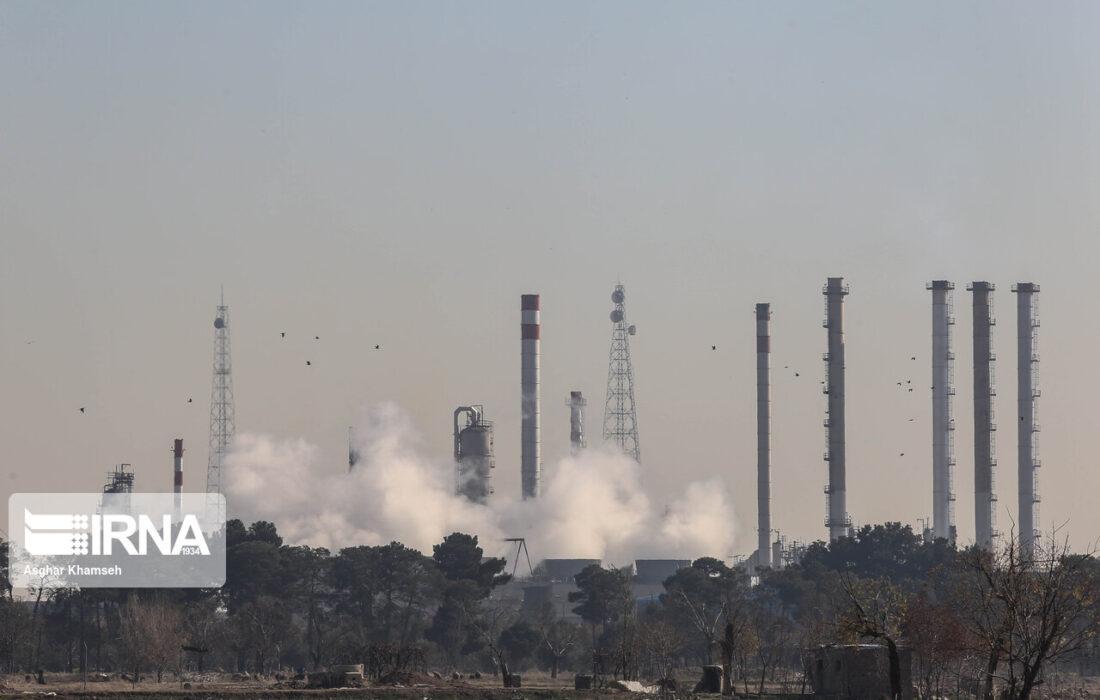 احتمال افزایش غلظت آلاینده ها و کاهش کیفیت هوا در شهرهای صنعتی