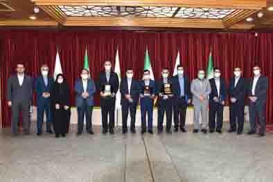 از رؤسای شعب برتر بانک مهر ایران تقدیر شد