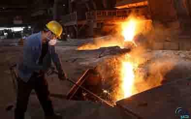 تولید ۲۵ میلیون تن شمش فولادی