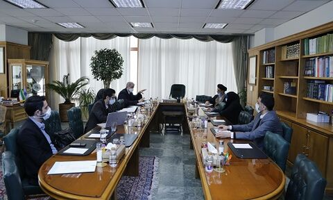 جلسه مشترک اعضای کمیسیون اصل ۹۰ مجلس و بانک مرکزی