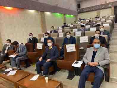 جلسه هم اندیشی شعبه زنجان با بانک قرض الحسنه مهر ایران