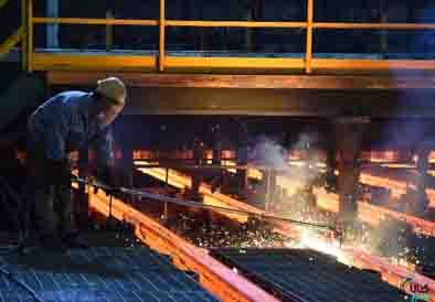 عرضه بیش از ۲۵۰ هزار تن فولاد در بورس کالا