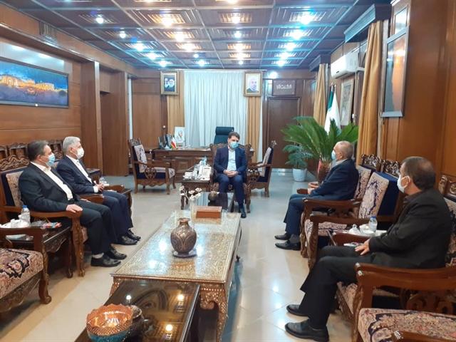 حضور رییس هییت مدیره درمدیریت شعب بانک در استان کرمان