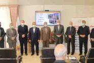 افتتاح درمانگاه بانک ملی ایران در استان آذربایجان شرقی