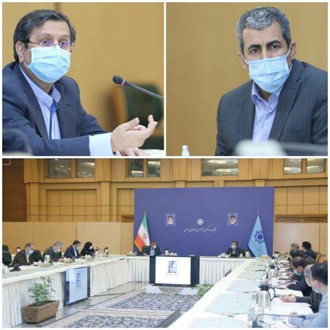 جلسه مشترک اعضای کمیسیون اقتصادی مجلس با هیات عامل بانک مرکزی