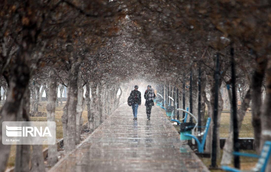 کاهش دمای ۴ تا ۶ درجهای برخی نقاط کشور تا فردا