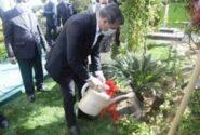 خبر خوش مدیرعامل بانک صادرات ایران برای سهامداران بانک در روز درختکاری