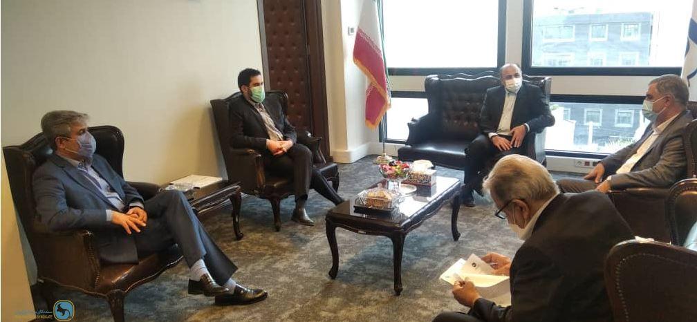 دیدار دبیرکل سندیکای بیمه گران ایران با مدیرعامل جدید بیمه سرمد