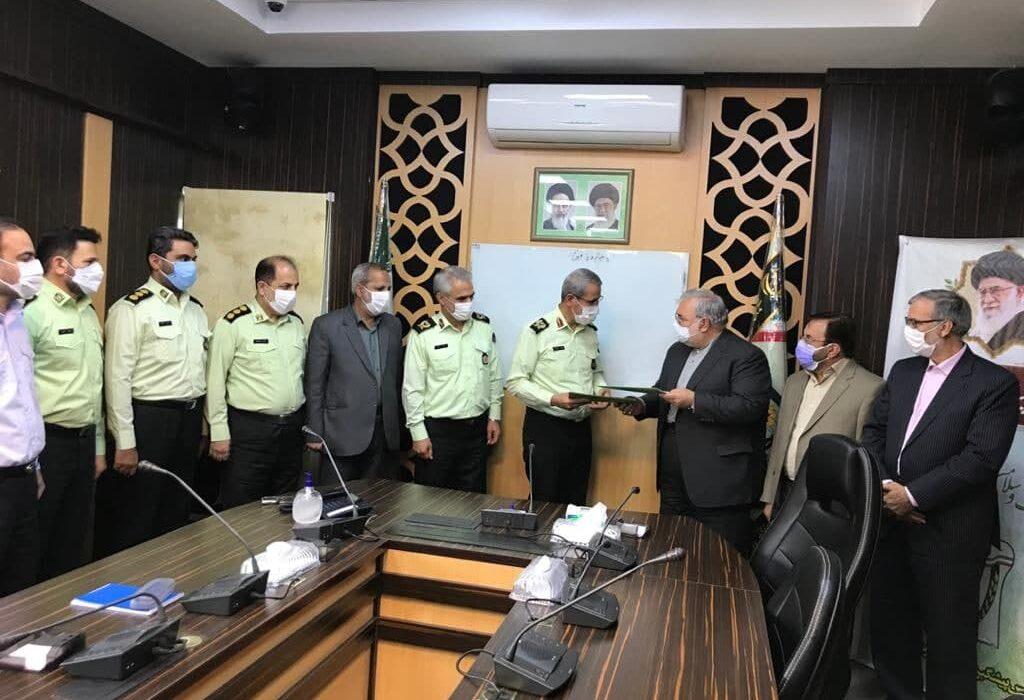پرداخت تسهیلات قرض الحسنه به کارکنان پلیس پیشگیری ناجا توسط موسسه اعتباری ملل