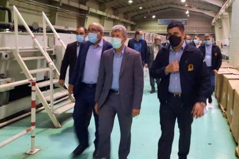بازدید معاون شعب بانک ملی ایران از دو گروه صنعتی
