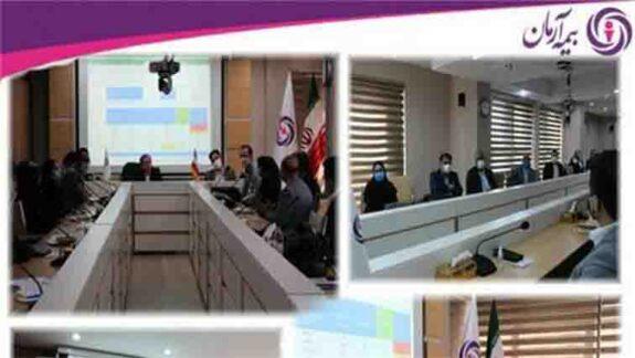 برگزاری دومین جلسه بررسی عملکرد شعب و تشریح برنامه های سال جاری