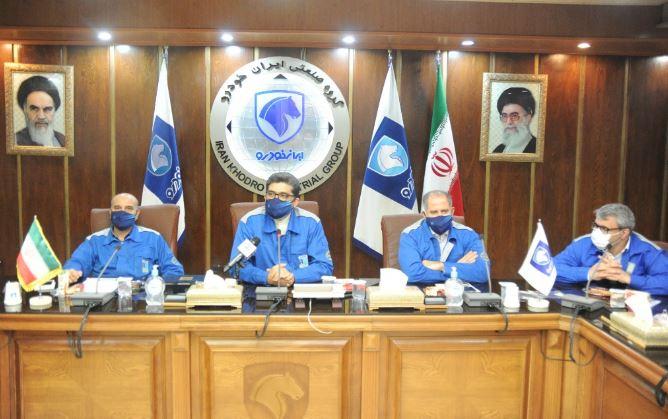 کمیته تولید، پشتیبانی و مانعزدایی در ایرانخودرو تشکیل شد