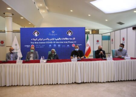 پایان تزریق نخستین واکسن ایرانی کرونا به ۵۰ درصد داوطلبان فاز سوم تست انسانی/ آغاز تولید صنعتی واکسن کوو ایران برکت و تحویل یک میلیون دوز