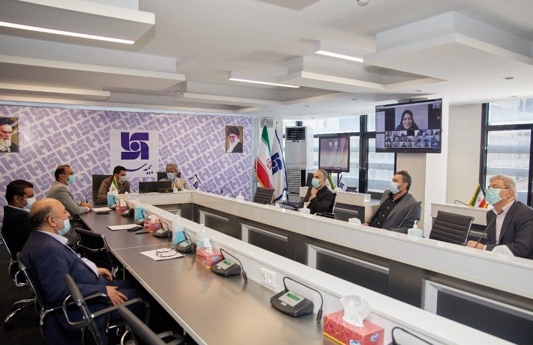 بررسی عملکرد شعبه بیمه سرمد در جلسه هیات عامل با مدیران استانی