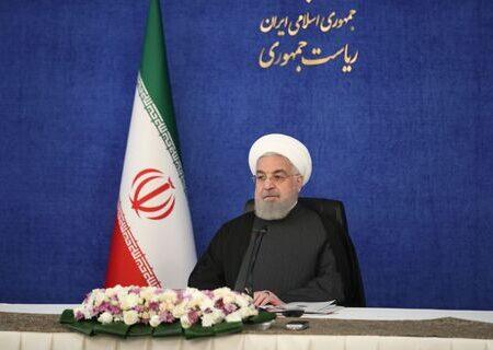 روحانی: سال ۹۹ از سختترین سالها در تاریخ کشور بود