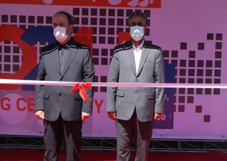 افتتاح نمایشگاه بین المللی بانک، بورس و بیمه با حضور مدیرعامل بانک مسکن
