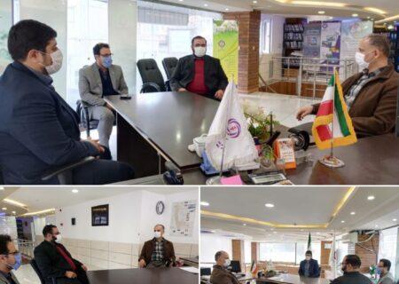 بررسی عملکرد شعبه ارومیه در بازدید سرپرست معاونت بازاریابی و فروش