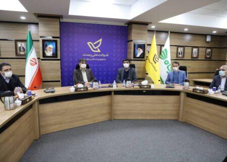 امضای تفاهم نامه سه جانبه میان شرکت فروشگاه های زنجیرهای رفاه، شرکت ملی پست ایران و بانک پارسیان