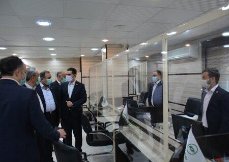 بازدید مدیرعامل بیمه البرز از شعبه بوشهر