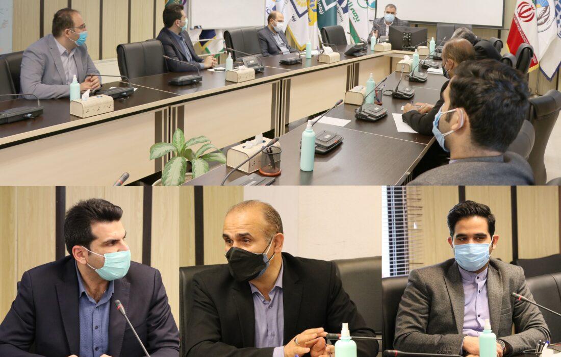 بررسی راهکارهای گسترش همکاریهای سندیکای بیمه گران ایران و صندوق نوآوری و شکوفایی ریاست جمهوری