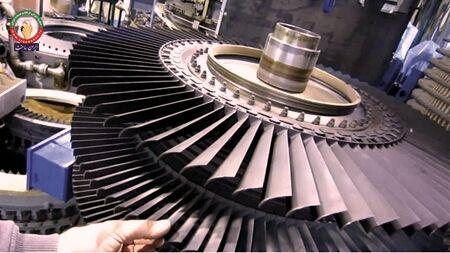 ساخت پرههای توربینهای گازی ۲۵ مگاواتی توسط یک شرکت فناور
