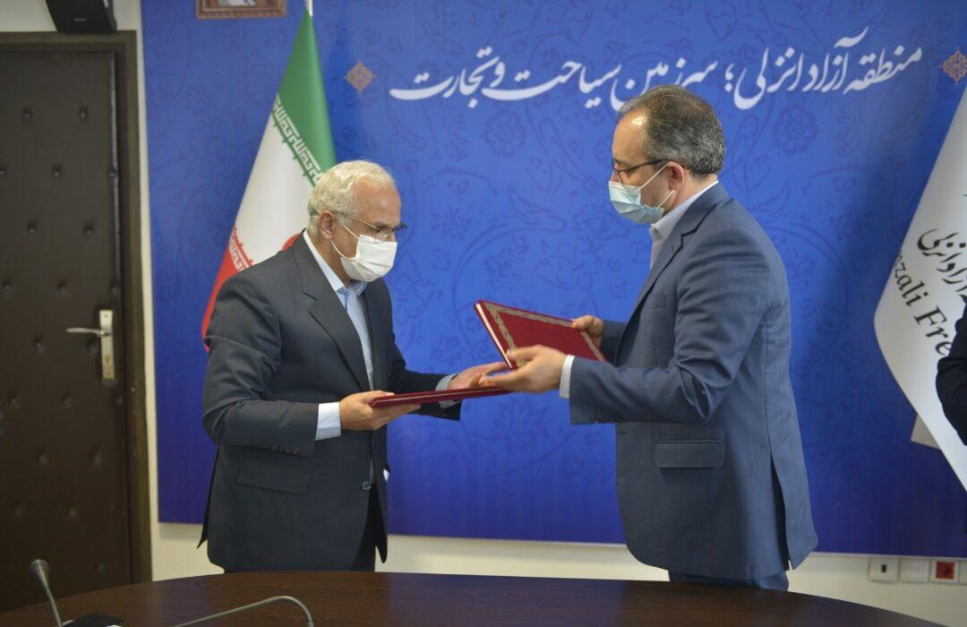 طرح مهر ایران معین به منطقه آزاد انزلی رسید