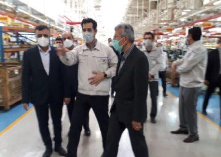 بررسی مشکلات واحدهای تولیدی و صنعتی در سفر مونسان عضو هیات عامل بانک ملی ایران به استان سمنان