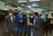 تاکید عضو هیات عامل بانک ملی ایران بر پشتیبانی و حمایت از شرکت های تولیدی