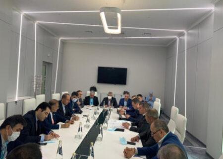 دیدار مدیرعامل پگاه با وزیر کشاورزی روسیه