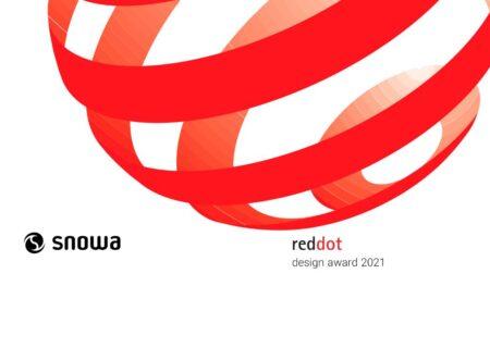 «اسنوا» در فهرست برندگان رقابت جهانی طراحی Reddot 2021 آلمان