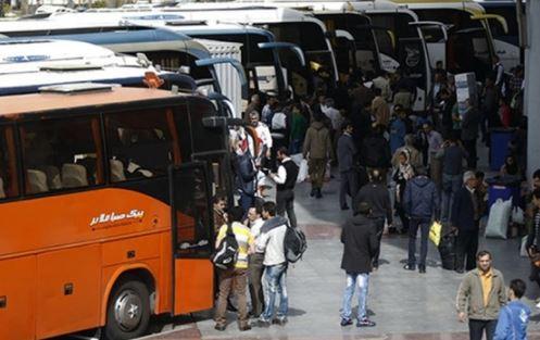 تعطیلی تهران و البرز تقاضا برای خرید بلیت اتوبوس را افزایش داد/ در برخی مسیرها تمام صندلی فروخته شد/ اتوبوس فوقالعاده برای مسیرهای پرتقاضا