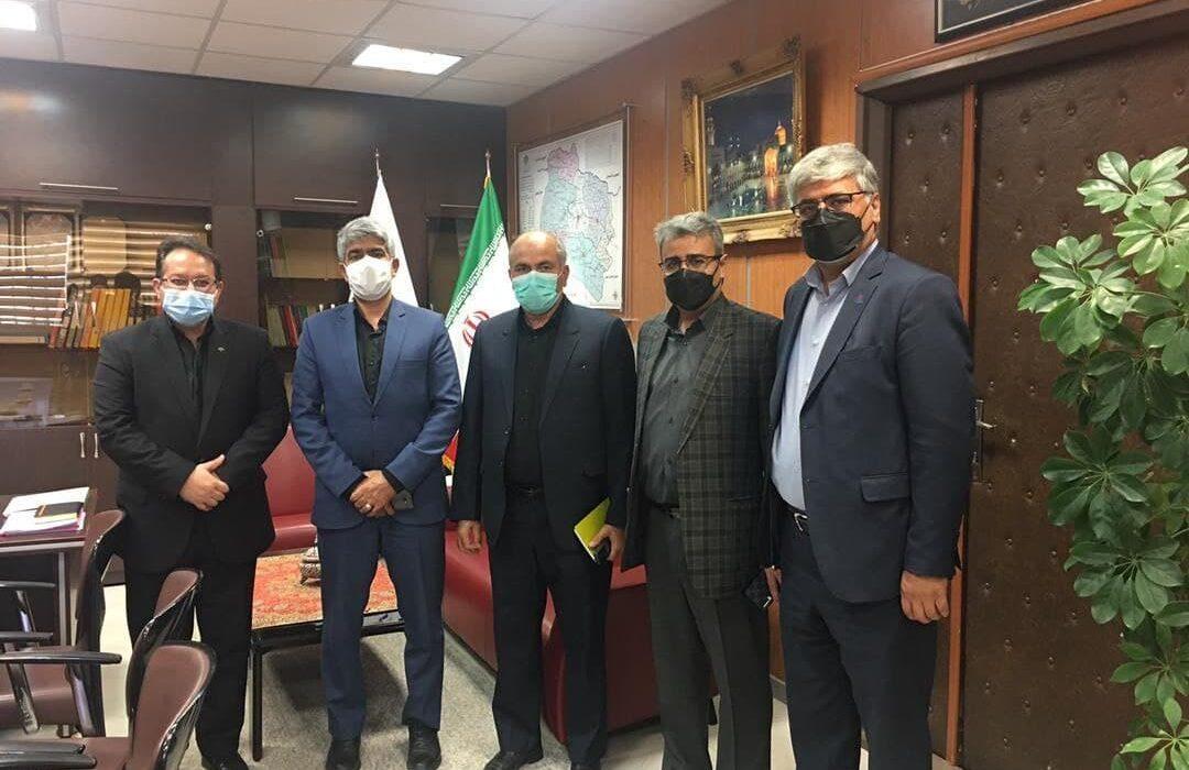 نشست سرپرستی منطقه ۶ با بانک رفاه استان خراسان شمالی