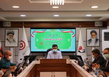 نشست مجازی مدیرعامل صندوق قرض الحسنه شاهد با کارکنان سراسر کشور برگزار شد