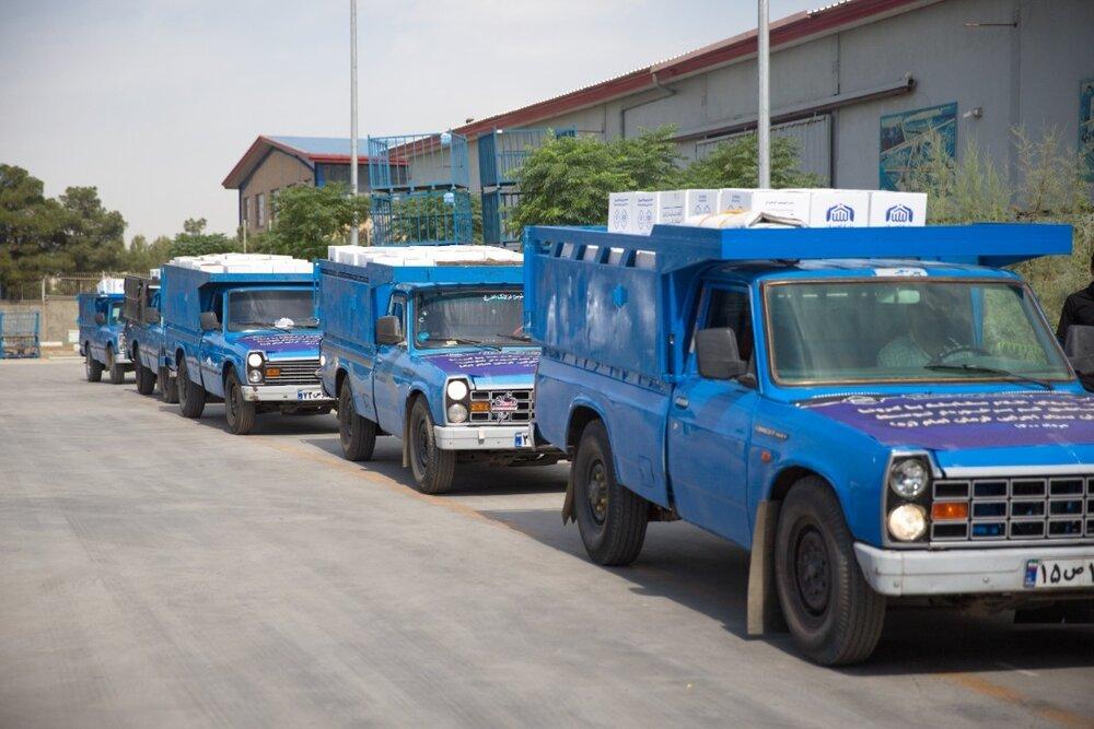 ارسال محموله ویژه کمکهای ستاد اجرایی فرمان امام به استانهای بحرانی کشور برای مهار ویروس کرونا