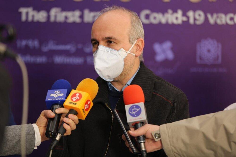 تحویل ۲۰۰ هزار دوز دیگر از واکسن کوو ایران برکت به وزارت بهداشت / مجموع واکسنهای تحویلی به یک و نیم میلیون دوز رسید