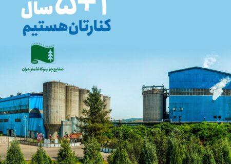 قرارداد بیمه ای چوب و کاغذ مازندران با تجارت نو برای سال ششم تمدید شد