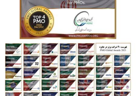 درخشش مدیریت توسعه صنایع پتروشیمی در اولین دوره حضور یک شرکت ایرانی در مسابقات جهانی دفاتر مدیریت پروژه