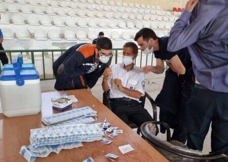 طرح واکسیناسیون کارکنان مجتمع معدنی چادرملو از امروز آغاز شد