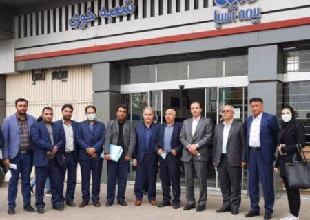 سفر استانی مدیرعامل بیمه آسیا به آذربایجان غربی