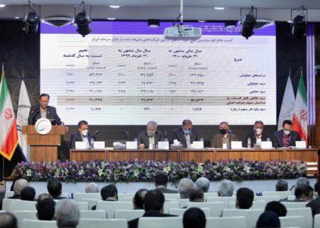 فارس ۶۰ تومان سود تقسیم کرد/ افزایش سرمایه تا سه ماه دیگر