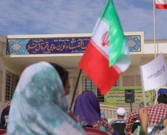 افتتاح مدرسه بانک اقتصادنوین در روستای حاجی قره شهرستان آق قلا