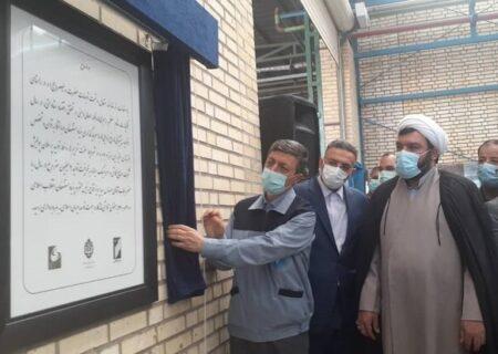 خط تولید جدید کاشی و سرامیک در ساوه افتتاح شد