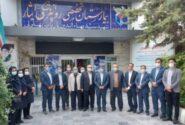 دیدار کارکنان بانک دی با یکصد خانواده شهید
